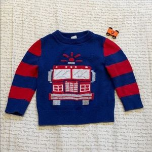 Baby Gap toddler boy's sweater, 18-24 months